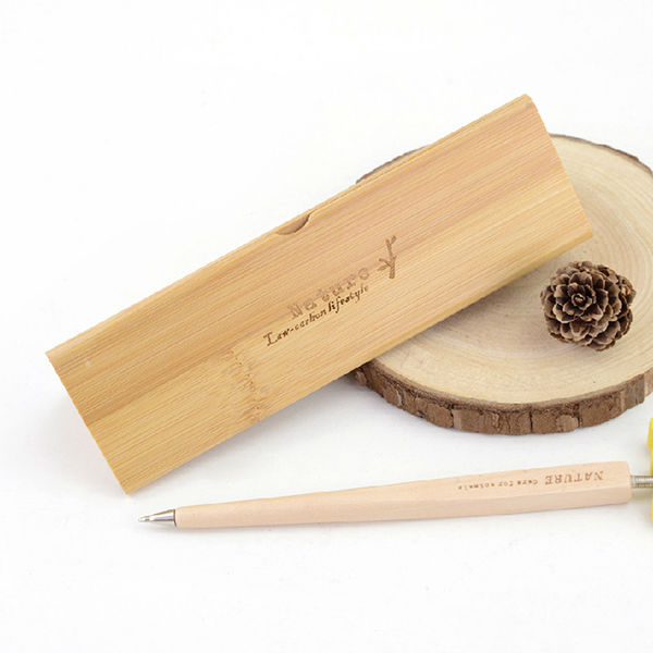 LANGUO special design bamboo packaging pen box