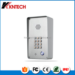KNZD-43A analogue auto dial keypad / IP video door phone