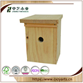 China Supplier Natural outdoor Wooden Bird House