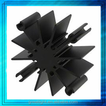 industrial aluminium profiles, aluminium profiles for led display ,CNC heat sink machining