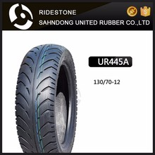 Good Quality Natural 130/70-12 SCOOTER TIRE