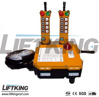 high quality wireless remote control for crane and hoist
