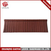 High class colorful stone roof tile,corrugated decorative metal roofs,cheap sheet metal roofing