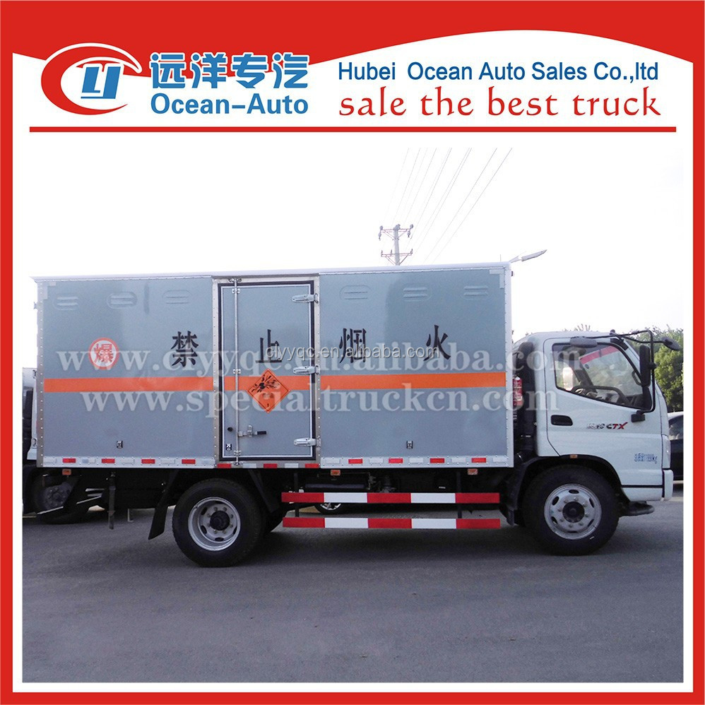 Low price foton 5ton blasting agent truck for sale