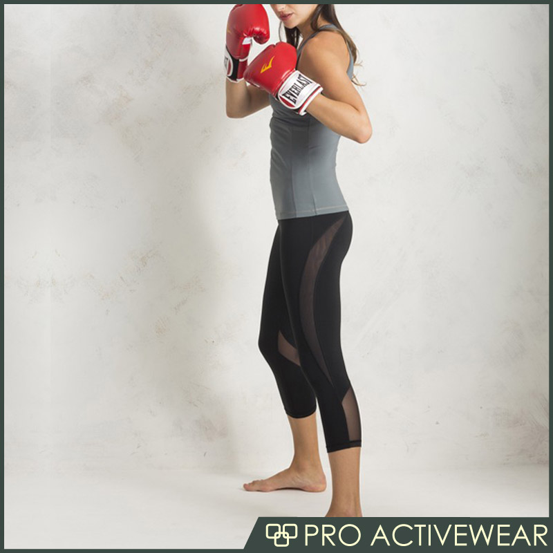 Yoga pants fitness with custom logo, bamboo yoga pants