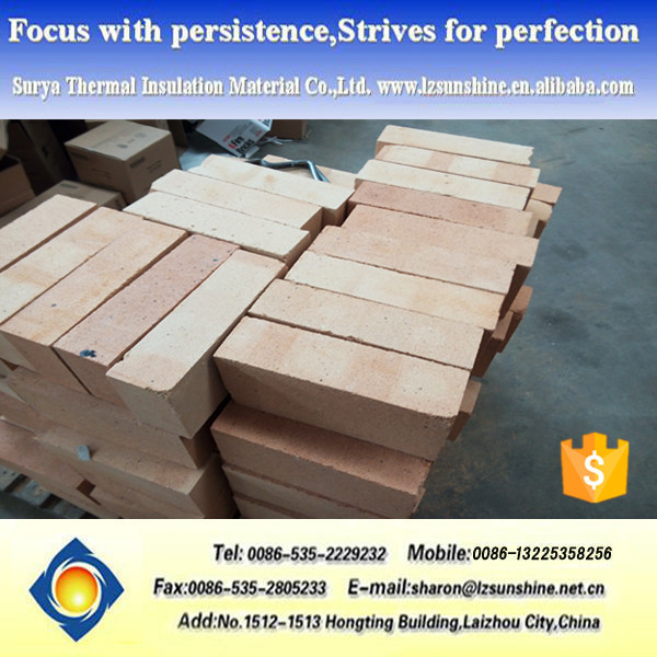 High Alumina Refractory Fire Bricks For Heating Furnace /Boiler