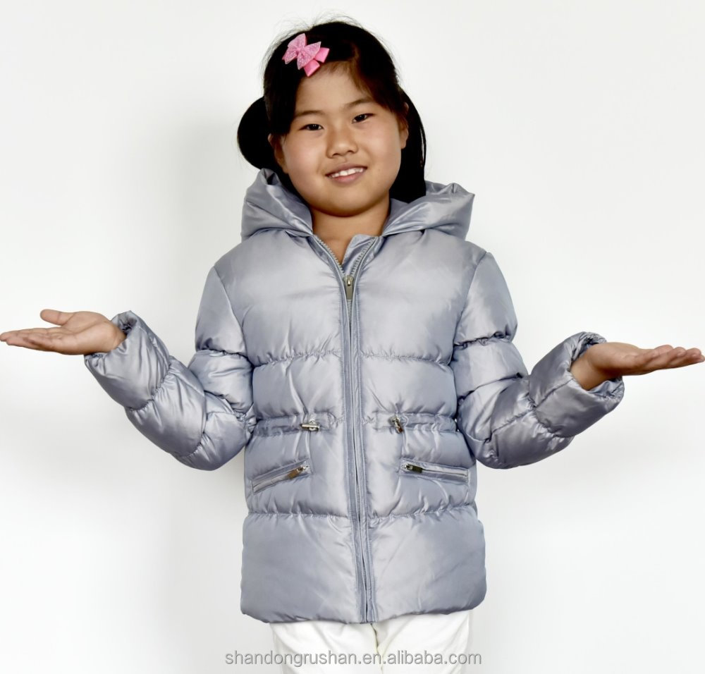 girl's duck down winter coat