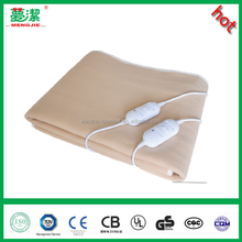 Portable Electric Blanket Plain Color