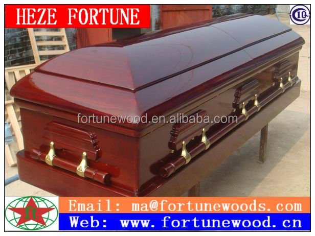 American funeral coffins and caskets