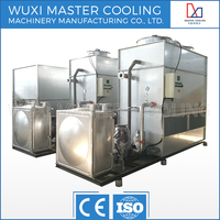 HOT SALE MSTNB 40TON COUNTER FLOW low noise cooling tower closed water cooling machine for smelting furnace