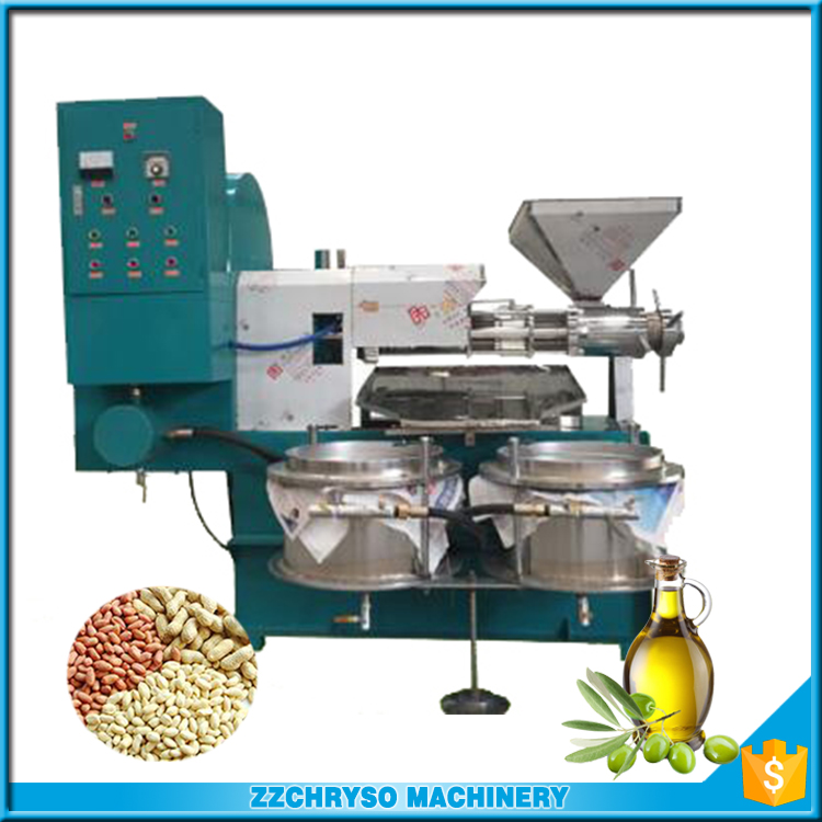 Automatic cold press oil machine for coconut / olive / sunflower