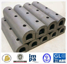 D Type Rubber Fenders used for tugs, barges, work boats, and pilot boats