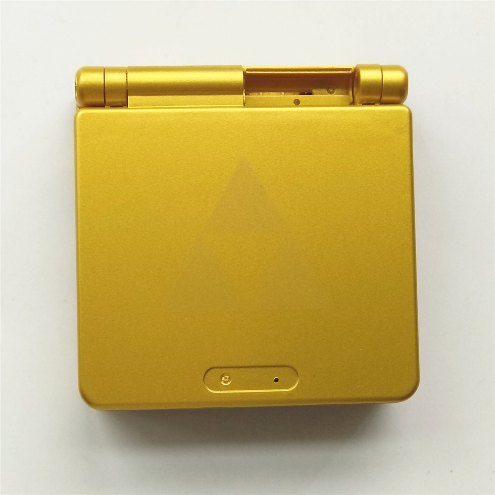 Saierte Gold Edition Video Game Console Case Shell Full Housing for GBA SP
