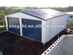 beautiful double car steel garage/car SHED/sheds and garages