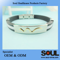 Wholesale Popular stainless steel negative ion bracelet for Girls