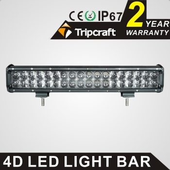2017 hot selling new arrival 17'' 180w 4d lens led light bar with CE RoHS IP67