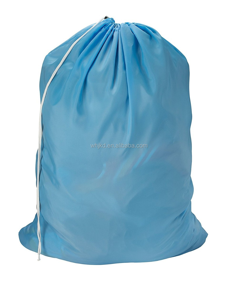 2017 Hot Sales Nylon Drawstring industrial laundry bag