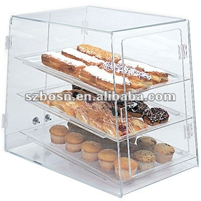 plexiglas bakery vitrine plexiglas pain bo te d 39 affichage lucite p tisserie pr sentoir bo tes. Black Bedroom Furniture Sets. Home Design Ideas