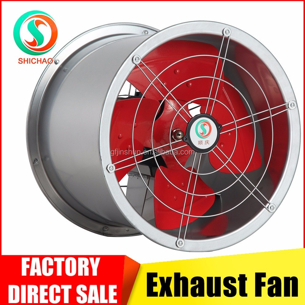Made in China SCG series tunnel type 380v 3 phase industrial exhaust fan