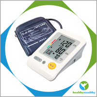 Ambulatory High Quality Upper Arm Digital Blood Pressure Device Monitor With CE, ROHS, FDA