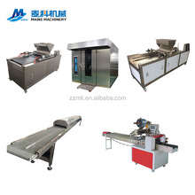 Electric good price muffin cake making line automatic cake machine production line