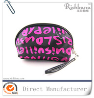 Promotional gift satin makeup bag