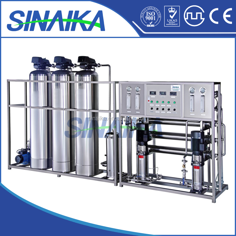 2000L Two stage reverse osmosis and high purity chemical RO water filter