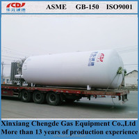 Low price pressure cryogenic LPG vessel for chemical use at stock