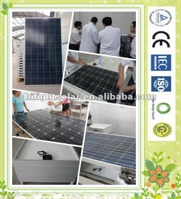 best for sale 240W high efficiency pv solar panel for home use with TUV