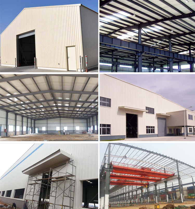 Long Span large scale steel structure Warehouse Storage building