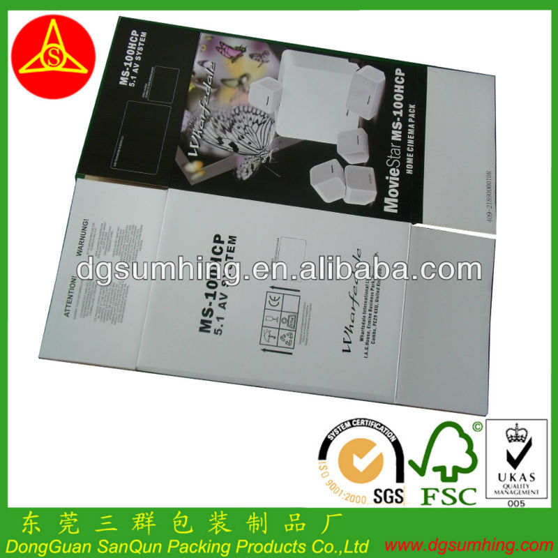 Printing cartons for fruit package box