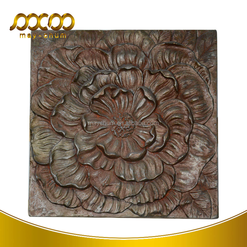 Classic Polyurethane Foam Wood Wall Art Decor For Other Home Decoration