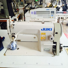 High speed Automatically adjustable second hand Juki 8700-7 single needle lockstitch sewing machine
