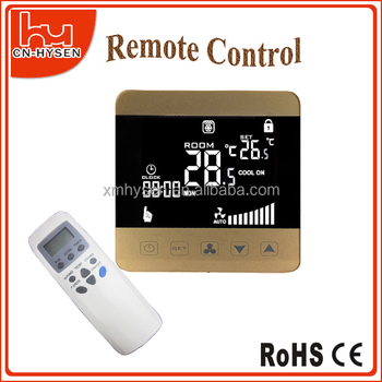 5+2 days weekly programmable room thermostat 220V CE RoHS Certificates