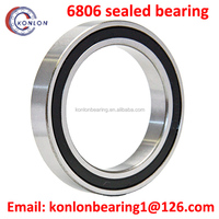 High quality 6806 sealed bearing 6806 deep groove ball bearing for long time use