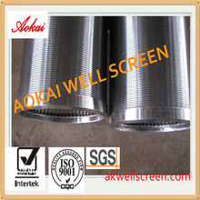 SS306 filter wedge wire screen johnson screen factory ISO+SGS certificates