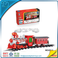 Plastic Toy Train Wheel For Kids Electric Train Toys For Boys Electric Train Set With Smoke
