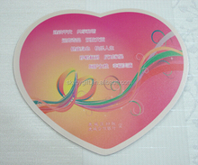 Heart Shape oyun custom mouse pad