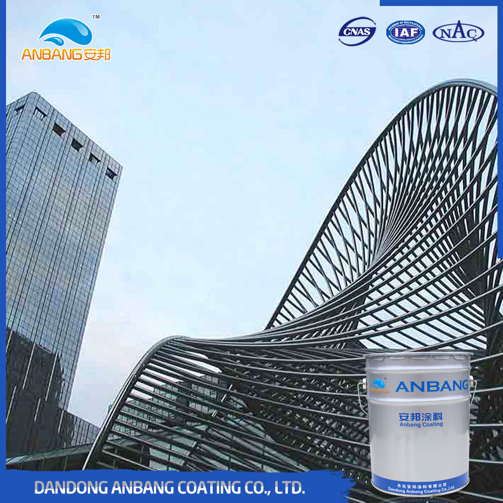 AB225 metal surface corrosion protection fast drying acrylic urethane coating