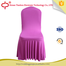 Fashion wholesale ruched tutu folding chair covers