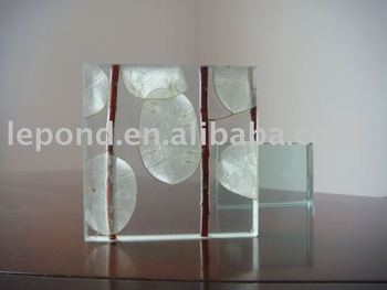 laminated decoration door art glass