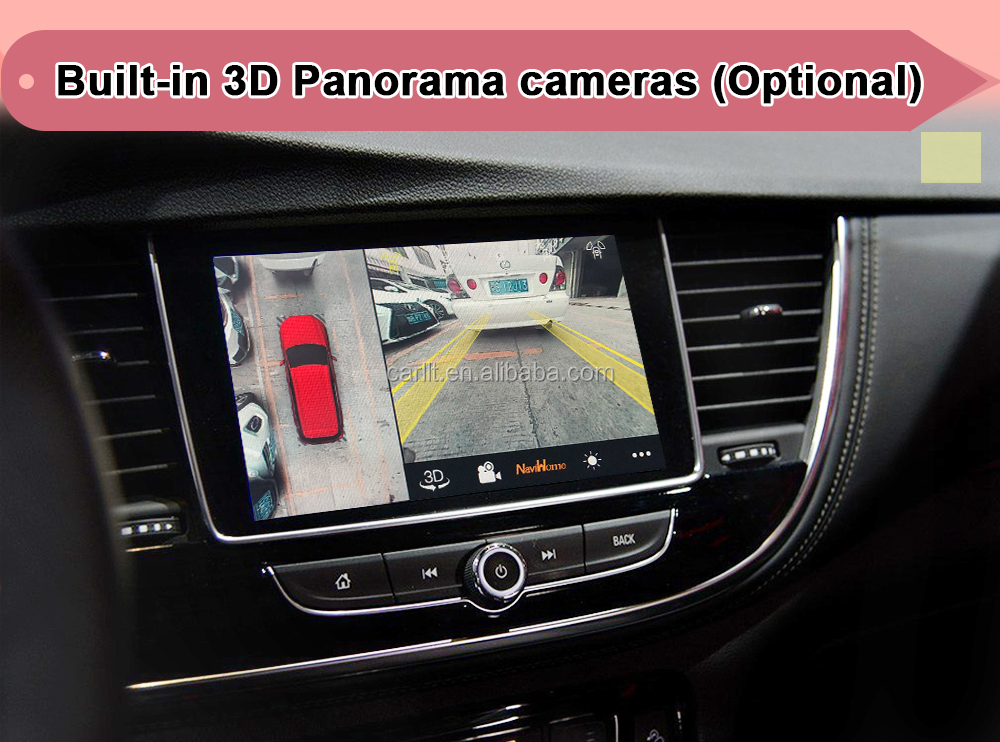 Android 7.1 car Navigation for Opel Insignia Mokka Crossland 2014-2018 video Interface support android auto, carplay by Lsailt