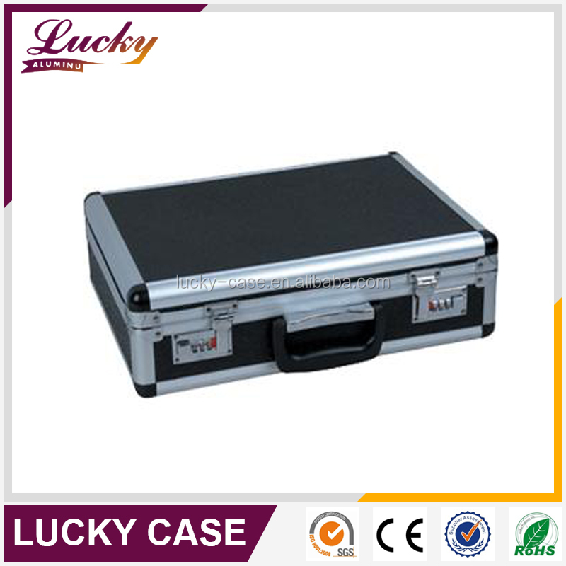 large Plastic aluminum Tool Boxes with combination lock