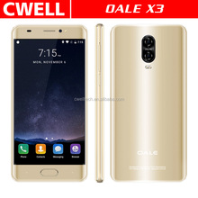 Factory Low Price OALE X3 5.5 Inch Hyperbolic Screen Fingerprint Quad Core Android smart phone manufacturing company in china