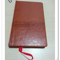 Hard Cover Handmade Paper Agenda With