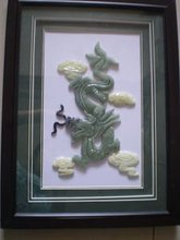 jade picture art jade picture frame