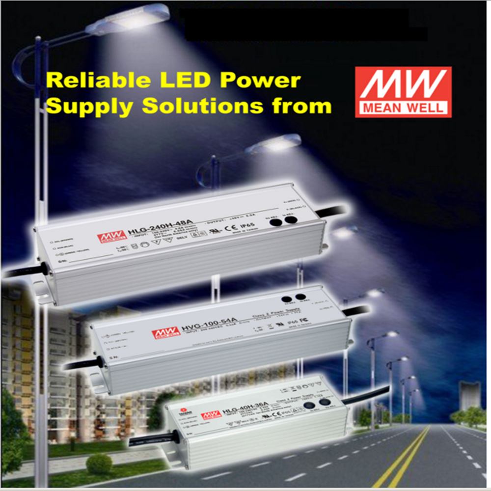 MEAN WELL motor speed power supply units