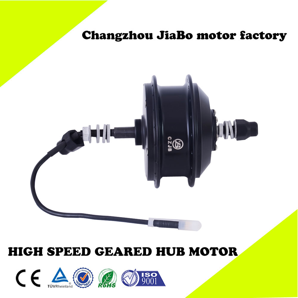 CZJB JB-92C 48v 350w geared ebike rear wheel hub motor