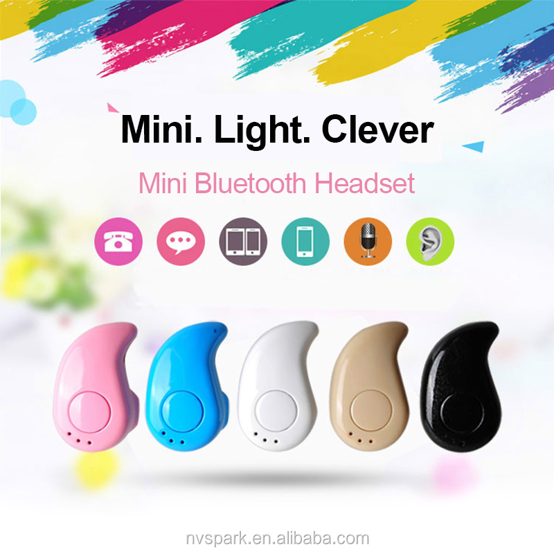 Hottest Volume Control Hands Free Music Sport Wireless Earbud Mini Bluetooth Earphone With Mic