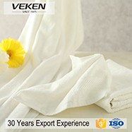 veken products high quality bamboo fiber jacquard towel set